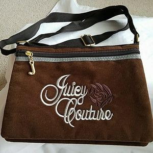 Juicy Couture Crossbody Brown Purse